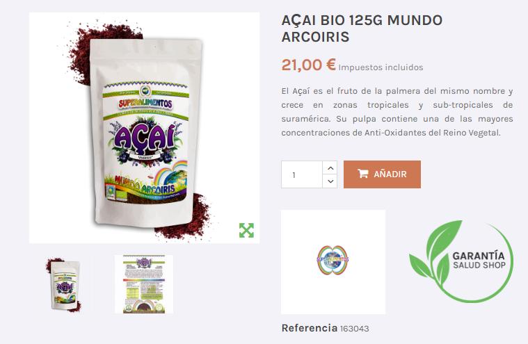 Comprar suplementos alimenticios baratos